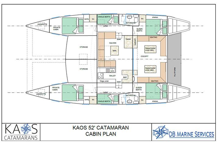 Kaos 52 Cabin-bsa