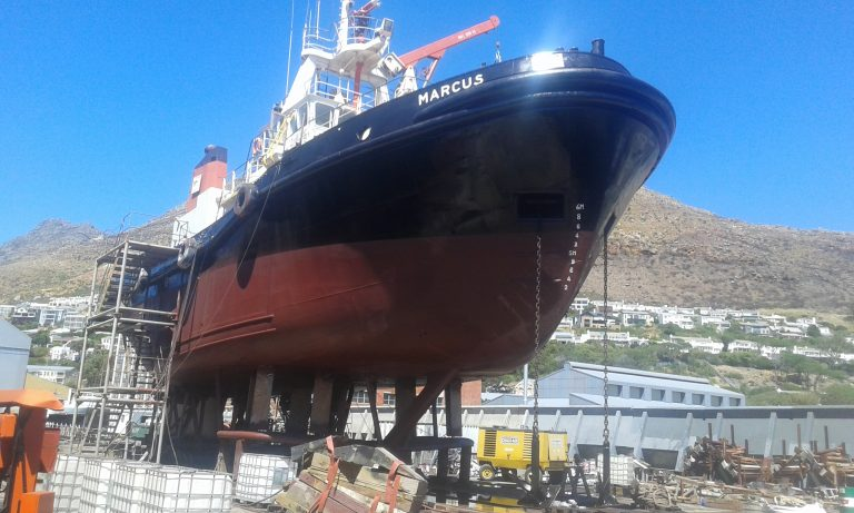 Hull Treatment & Anchor Chain Service on Completion